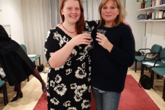 Helen Gilroy (Chair 2016) and Dawn Jarvis (Chair 2017)